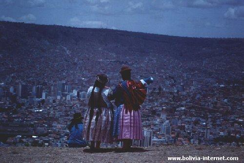 La Paz - Una vista de la ciudad